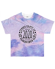 the quarantined class tie dye sparkling All-over T-Shirt front