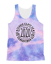 the quarantined class tie dye sparkling All-over Unisex Tank thumbnail