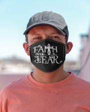 Faith over Fear Cloth face mask aos-face-mask-lifestyle-06
