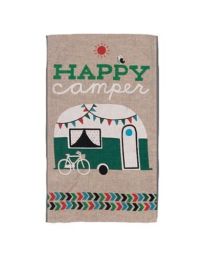 Happy Camper Kitchen Towel