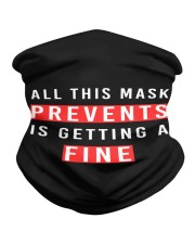 All This Mask Prevents is Getting a Fine Neck Gaiter tile