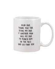 HQH994 Thank You For Being My Dad Fathers Day 2020 Mug front