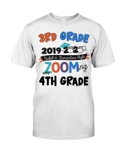 3rd grade zooming into 4th grade Classic T-Shirt front