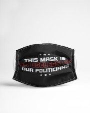 This Mask is as Useless as our Politicians Cloth face mask aos-face-mask-lifestyle-22