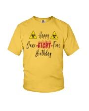 Happy Quar-Eight-Tine Birthday Youth T-Shirt tile