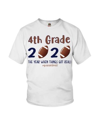 4th grade football 2020 quarantine