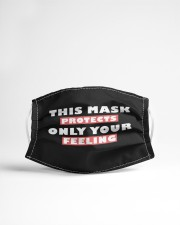 this mask protects only your feeling Cloth face mask aos-face-mask-lifestyle-22