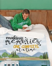 """Personalized Camping Blanket 11 Large Sherpa Fleece Blanket - 60"""" x 80"""" aos-sherpa-fleece-blanket-60x80-lifestyle-front-07"""