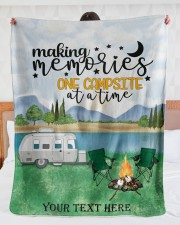 """Personalized Camping Blanket 11 Large Sherpa Fleece Blanket - 60"""" x 80"""" aos-sherpa-fleece-blanket-60x80-lifestyle-front-23"""