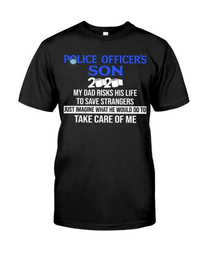 Police officer's son my DAD
