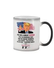 trump 2020 stepdad mug toilet paper Color Changing Mug thumbnail