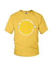 My 7Th Birthday-Quarantined Youth T-Shirt tile