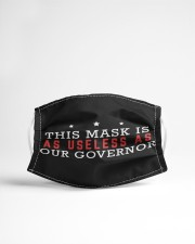 this mask is as useless as our governor Cloth face mask aos-face-mask-lifestyle-22