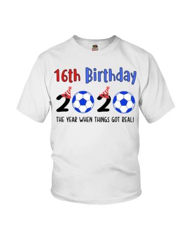 16th birthday soccer