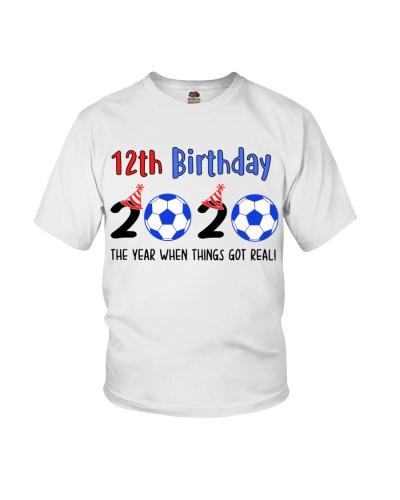 12th birthday soccer 2020