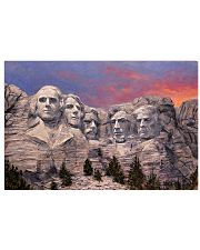 trump rushmore 17x11 Poster front