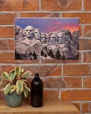 trump rushmore 17x11 Poster poster-landscape-17x11-lifestyle-23