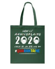 HTH Mon 67e anniversaire Tote Bag tile