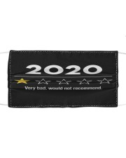 2020 Very bad Cloth face mask front