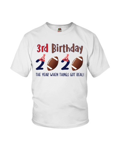 3rd birthday football