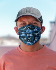 Patriotic camo blue Cloth face mask aos-face-mask-lifestyle-06