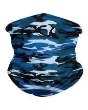 Patriotic camo blue Neck Gaiter tile