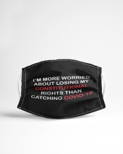 I'm more worried about losing rights hand Cloth face mask aos-face-mask-lifestyle-22