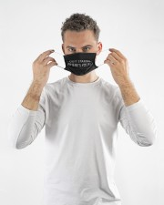 Quit staring wheres yours Cloth face mask aos-face-mask-lifestyle-08