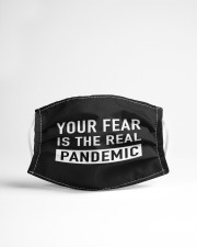 Your FEAR is the real Pandemic Cloth face mask aos-face-mask-lifestyle-22