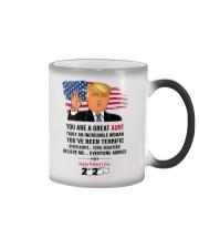 trump 2020 aunt mug toilet paper Color Changing Mug thumbnail