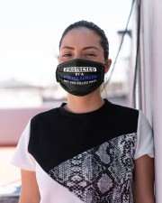 Protected by a police officer  Cloth face mask aos-face-mask-lifestyle-04