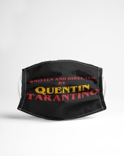 Quentin Tarantino Cloth face mask aos-face-mask-lifestyle-22