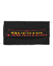 Quentin Tarantino Cloth face mask front