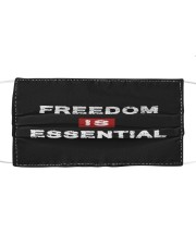 Freedom is Essential Face Mask Cloth face mask front
