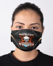 mechanic cant fix stupid Cloth face mask aos-face-mask-lifestyle-01