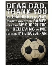 Soccer Dad 24x36 Poster front