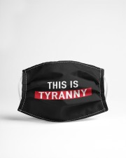 THIS IS TYRANNY MASK Cloth face mask aos-face-mask-lifestyle-22