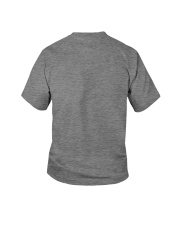 Happy Quar-Ten-Tine Birthday Youth T-Shirt back