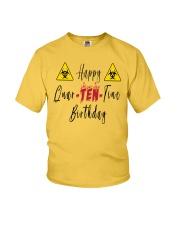 Happy Quar-Ten-Tine Birthday Youth T-Shirt tile