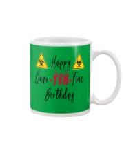 Happy Quar-Ten-Tine Birthday Mug tile