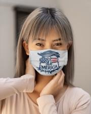MERICA Cloth face mask aos-face-mask-lifestyle-18