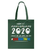 HTH Mon 21e anniversaire Tote Bag tile