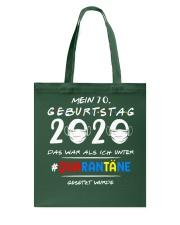 Mein 70 Geburtstag Tote Bag tile
