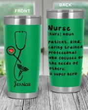 Personalized Nurse Tumbler - custom name 20oz Tumbler aos-20oz-tumbler-lifestyle-front-59