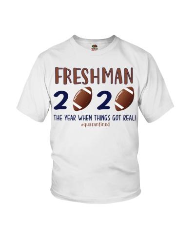 Freshman football 2020 quarantine