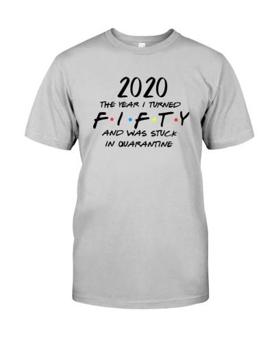 HQH994 50th Birthday Friends Shirt