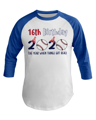 16th birthday baseball