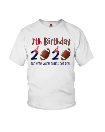 7th birthday football