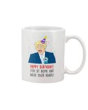 BJ happy birthday stay at home Mug thumbnail
