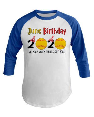 June birthday softball
